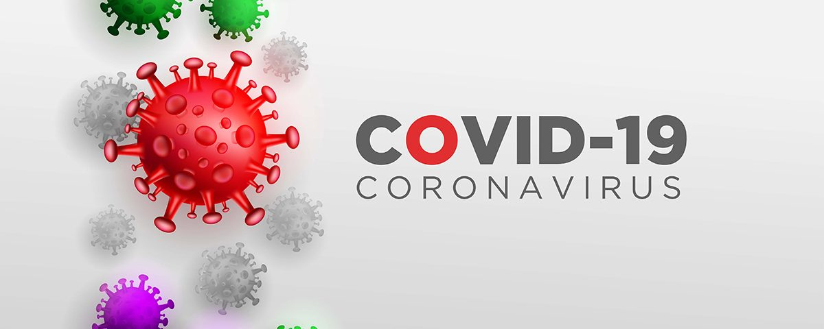 Covid Corona Virus in Real 3D Illustration concept to Describe about Corona Virus anatomy and type.